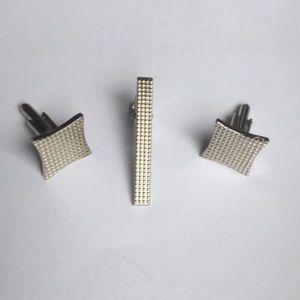👔3/$40👔 Vintage silver cuff link set